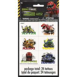 Dinotrux Dinotrux Temporary Tattoo Sheets [4 per Pack]