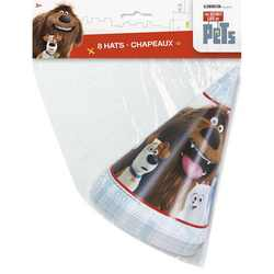 Secret Life of Pets, The The Secret Life of Pets Party Hats [8 p