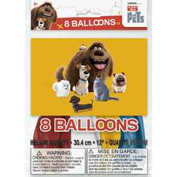 Secret Life of Pets, The The Secret Life of Pets Latex Balloons