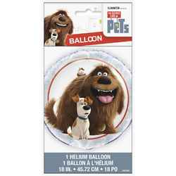 Secret Life of Pets, The The Secret Life of Pets 18 Inch Foil Ba