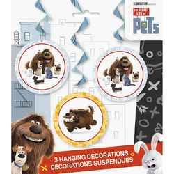 Secret Life of Pets, The The Secret Life of Pets Hanging Swirl P