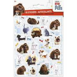 Secret Life of Pets, The The Secret Life of Pets Sticker Sheets