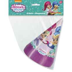 Shimmer and Shine Shimmer and Shine Party Hats [8 per Pack]