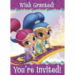 Shimmer and Shine Shimmer and Shine Party Invitations [8 per Pac