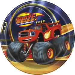 Blaze and the Monster Machines 7 Inch Dessert Plates [8 per Pac