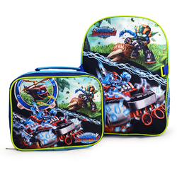 Skylanders Skylanders Deluxe Backpack and Lunch Bag Set