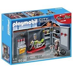 Playmobil Playmobil Motor Bike Garage Shop [5982]