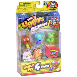 Ugglys Pet Shop The Ugglys Pet Shop - 4 Pack - Series 1