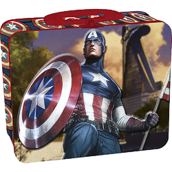 Marvel Heroes Marvel Captain America 48 Piece Puzzle in Tin Box
