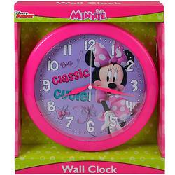 Minnie Mouse Disney Minnie Bowtique 10 Inch Round Clock