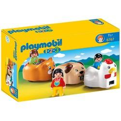 Playmobil Playmobil 1-2-3 Animal Train [6767]