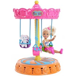 Barbie Barbie - Chelsea Doll and Carousel Swing