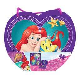 Disney Princess Disney Princess 48-Piece Puzzle in Heart-Shaped