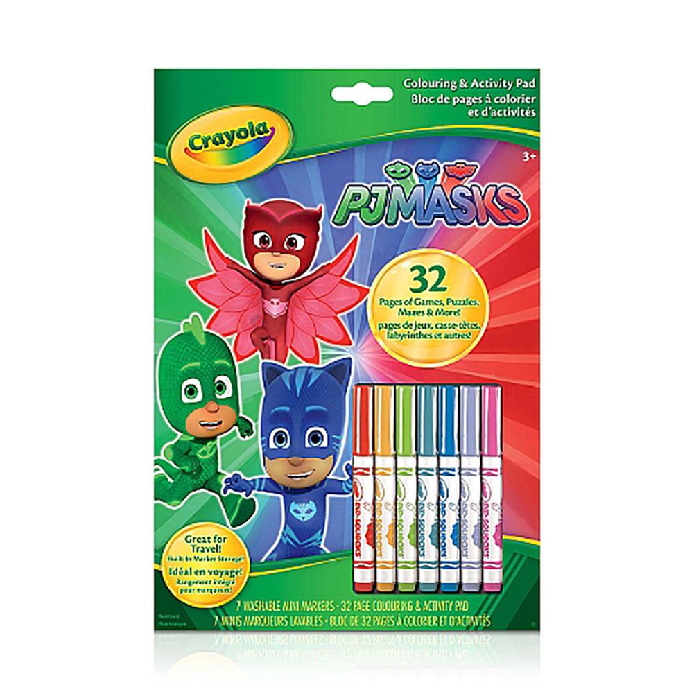 dropshipping crayola colouring activity book pj masks sellerbooster