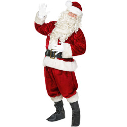 Category: Dropship Party Supplies, SKU #MCOS-114XL, Title: Jolly Ol' St. Nick Adult Costume, XL