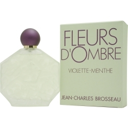 Jean Charles Brosseau FLEURS D'OMBRE VIOLETTE-MENTHE by Jean Cha