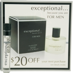 Exceptional Parfums EXCEPTIONAL-BECAUSE YOU ARE by Exceptional P