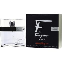 Salvatore Ferragamo F BY FERRAGAMO POUR HOMME BLACK by Salvatore