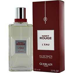 Guerlain HABIT ROUGE L'EAU by Guerlain (MEN)
