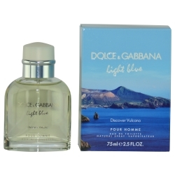 Dolce & Gabbana D & G LIGHT BLUE DISCOVER VULCANO POUR HOMME by