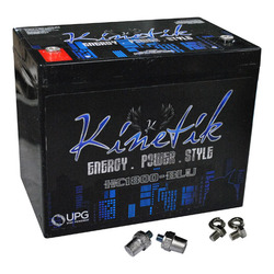 Category: Dropship Batteries/chargers, SKU #HC1800BLU, Title: Kinetik BLU 1800W 12V Power Cell