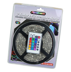 Category: Dropship Led Lights, SKU #NLKT216LEDM, Title: Nippon 2 - 16ft LED Flexible Strip 7 Colors