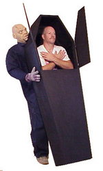Category: Dropship Costumes & Props, SKU #AC174, Title: WALKING ILLUSION COFFIN SP ORD