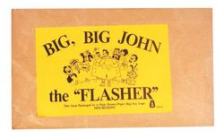 Category: Dropship Magic, Juggling & Novelties, SKU #KB132, Title: BIG BIG JOHN THE FLASHER