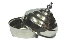 Category: Dropship Magic, Juggling & Novelties, SKU #LA378, Title: DOVE PAN DLX STAINLSS STEEL