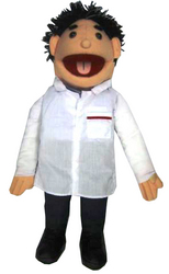 Category: Dropship Magic, Juggling & Novelties, SKU #LA91, Title: PUPPET DOCTOR 28in