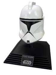 Category: Dropship Costumes & Props, SKU #RU68102, Title: CLONE TROOPER COLLECTOR HELMET