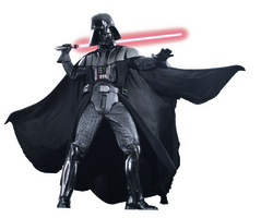 Category: Dropship Costumes & Props, SKU #RU909877, Title: DARTH VADER SUPREME COST ADULT