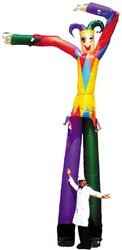 Category: Dropship Costumes & Props, SKU #VA665, Title: DANCING JESTER 16FT SINGLE FAN