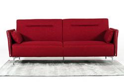 Category: Dropship Home Decor, SKU #283890, Title: Modern Red Fabric Single Sofa