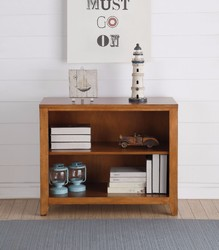 Category: Dropship Office & Supplies, SKU #313428, Title: Simple Looking Wooden Bookcase, Cherry Oak Brown