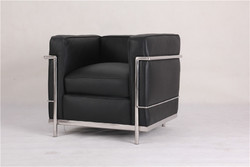 Category: Dropship Home Decor, SKU #LC-CLS, Title: Corbusier Leather Seat