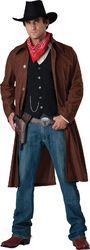Category: Dropship Seasonal, SKU #FC01026639, Title: Incharacter Costumes Men S Gritty Gunslinger Cowboy Costume