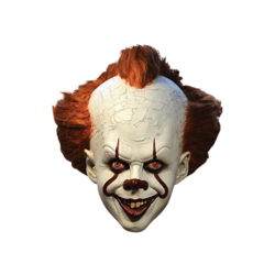 Category: Dropship Seasonal, SKU #FC01032359, Title: IT - Pennywise Deluxe Mask