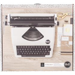 Category: Dropship Garden/outdoor Decor, SKU #FC01630630, Title: American Crafts We R Memory Keepers Typecast Collection Typewriter White