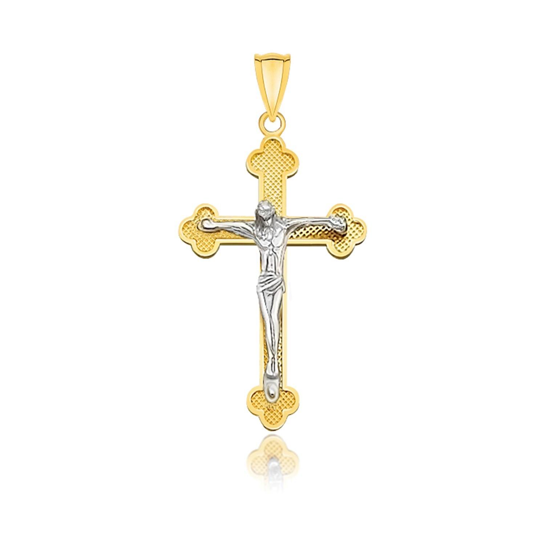 Cross Pendant Yellow Gold Cross Plain Gold Cross Small Cross