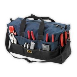 "Custom LeatherCraft 17 Pocket 18"" Xl Tote Bag"