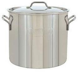 Barbour International 40 Qt Brew Kettle Ss Stockpot