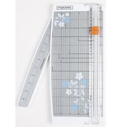 "Fiskars 12"" Ptble Paper Trimmer Euro"