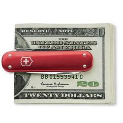 Victorinox Money Clip Red Alox