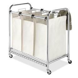 Category: Dropship Lifestyle, SKU #60975794, Title: Deluxe Triple Laundry Sorter