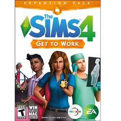 Electronic Arts The Sims 4 Get To Work Pc