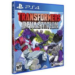 Activision Blizzard Inc Transformers Devastation Ps4