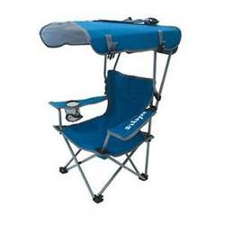 SwimWays Corp. K Kids Canopy Chair Blue Gray