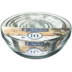 Anchor Hocking 10 PC Mixing Bowl Value Pack