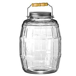 Anchor Hocking 2.5 Gal Barrel Jar W&#47 Lid
